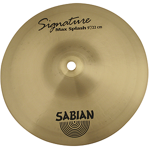 Sabian Signature Series Mike Portnoy Max Splash Cymbal - Brilliant - 7-inch