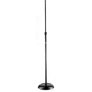 Atlas Microphone Floor Stand - Chrome
