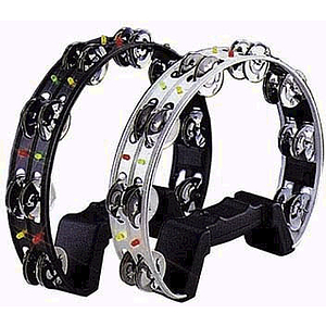 "Mr. Tambourine Lighted Tambourine - 10"" Black"