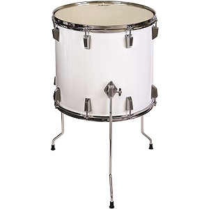 Adam Floor Tom - White