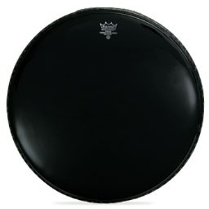 "Remo Powerstroke 3 Bass Drum Head - 24""/Ebony"