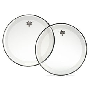 Remo Powerstroke 4 Clear Bass Drum Head - 20&quot;
