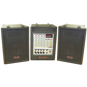 Nady PA4180 - Ensemble Portable PA Package