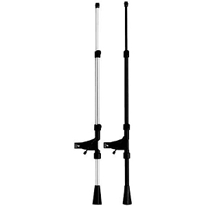 Atlas Pro Porta-Boom - Chrome, 28.25-38.5 inches
