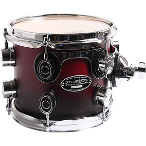 Pacific Drums FS Series 7&quot; x 8&quot; Tom Tom - Cherry Fade