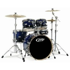 Pacific Drums M5 5-Piece Shell Set - Blue Fade