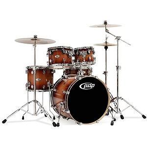 Pacific Drums M5 5-Piece Shell Set - Tobacco Burst