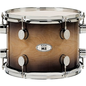 "Pacific Drums M5 14"" x 16"" Floor Tom - Natural to Charcoal"