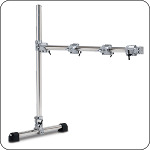 Pacific Drums PDSRSIDE Drum Rack Set - Super Rack Side Package - Chrome over Steel