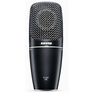 Shure PG27 USB Instrument Studio Condenser Microphone