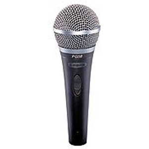 "Shure PG58 Dynamic Vocal Microphone - XLR-1/4"" Cable"