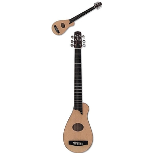 Applecreek PKACG10EK Acoustic-Electric Travel Guitar - Natural