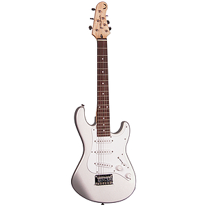 Dean Playmate Avalanche J 3/4-size Electric Guitar - Silver