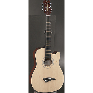Dean Playmate J 7/8-Size Student Acoustic Guitar - Gloss Natural