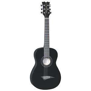 Dean Playmate JT 34&quot; 3/4-Size Student Acoustic Guitar - Black