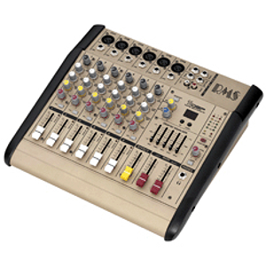 RMS PMC6200 6-Channel Power Mixing Console