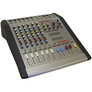 Nady PMX600 - 6-Channel Stereo Powered Mixer