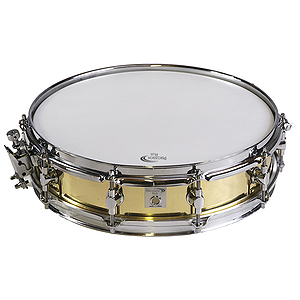"Percussion Plus 14"" Brass Piccolo Snare Drum"
