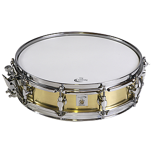 "Percussion Plus 13"" Brass Piccolo Snare Drum"