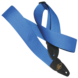 "LM Products Adjustable 2"" Guitar Strap - Blue"
