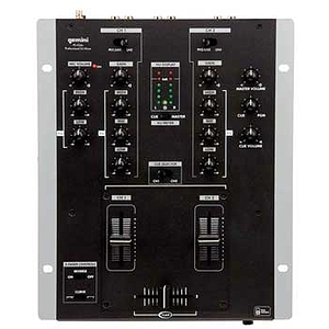 Gemini PS424X 2-channel Professional DJ Mixer