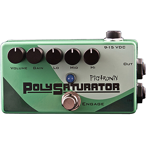 Pigtronix Polysaturator Guitar Distortion Pedal