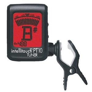 Intellitouch PT10 Mini Clip-on Tuner for Guitar and Stringed Instruments