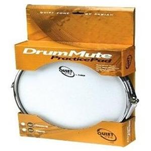 """Sabian Quiet Tone Snare Drum Mute Practice Pad, 14"""""""