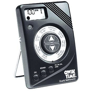 Qwik Time QT-7 Quartz Metronome