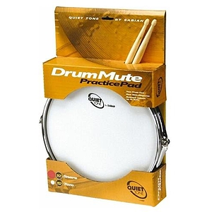 Sabian Quiet Tone Snare Drum Practice Pad 10 Inches