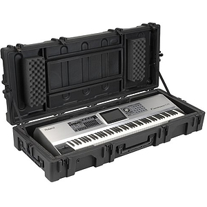 SKB R6223W 88-key Keyboard Case w/wheels