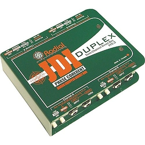 Radial Engineering JDI Duplex 2-channel Passive Direct Box