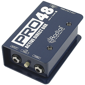 Radial Engineering R8001100 ProD1 Mono Direct Box