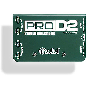 Radial Engineering R8001102 ProD2 Stereo Direct Box