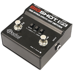 Radial Engineering R8007204 Big Shot EFX Loop Switcher