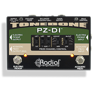 Radial Engineering PZ-DI Piezo and Magnetic Pickup Selector Pedal