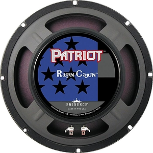 "Eminence Patriot Ragin' Cajun 10"" 75W Guitar Speaker 10 Inches"