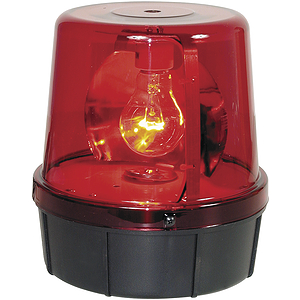 MBT Economy Rotating Beacon - Red