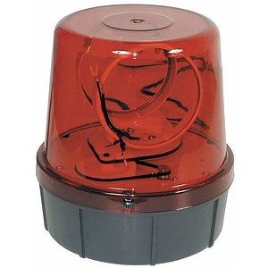 MBT Twin Beam Rotating Beacon - Red