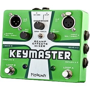 Pigtronix Keymaster Dual FX Mixer Guitar Pedal