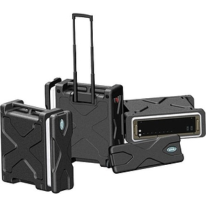 SKB RLX6 6-space Roll-X Rack Case with Wheels
