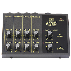 RMS 8-Channel Micro Mixer