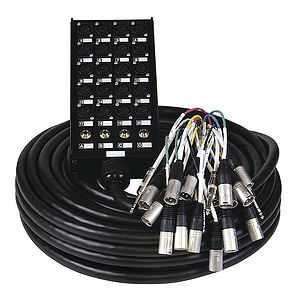 RMS Audio Snake - 24 Channels (20 in, 4 out)