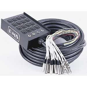 RMS Audio Snake - 9 Channels (6 in, 3 out)