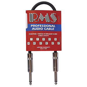 RMS 1&#039; Shielded Guitar Cable