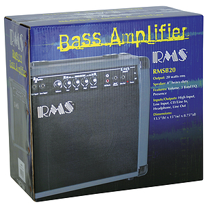 RMS 20-watt Bass Guitar Amplifier