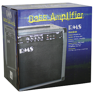 RMS RMSB40 40 Watt Combo Bass Guitar Amplifier