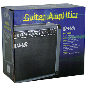 RMS RMSG40 40 Watt Guitar Combo Amplifier
