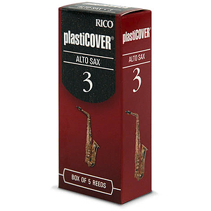 Rico Plasticover Alto Sax Reeds - Thickness: 3 1/2 (box of 5)
