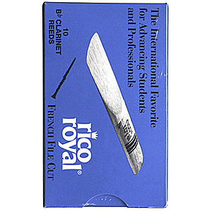 Rico Royal Bb Clarinet Reeds - Thickness: 3 1/2 (box of 10)